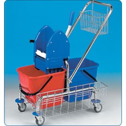 Úklidový vozík 2x17 l Clarol...