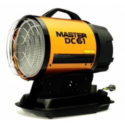 Infračervený naftový sálač Master DC...